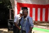 常陸大宮市文化センター 横堀さんのあいさつ
